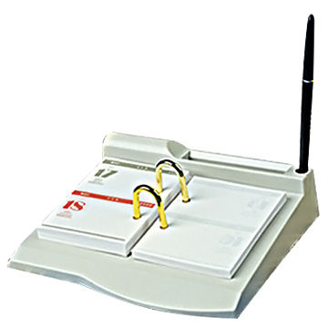 plastic desk calendar stand use in office school government and