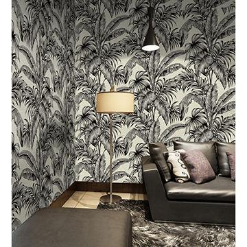 Velvet Flock Wallpaper