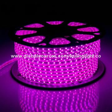 5050 three point light with purple pink colorhigh voltage powerac flexible strip lights china flexible strip lights aloadofball Image collections