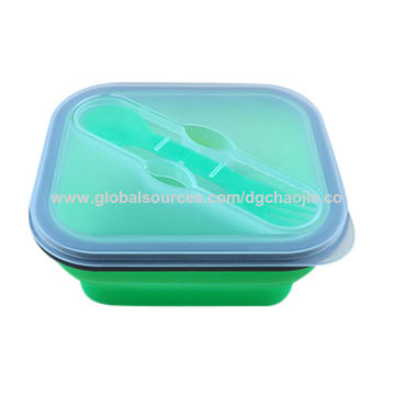 China Collapsible Food Container Silicone Lunch Box On Global Sources