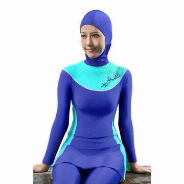 445aa1c06e2 China New design popular Islamic swimsuit for Muslim women, good-quality,  fast delivery