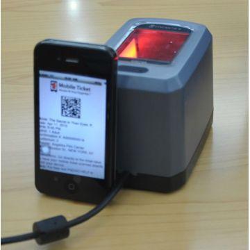 E-coupon/E-tickets reader - 2D datamatrix reader