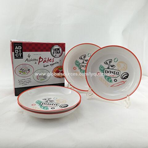 Ceramic Dinnerware Porcelain Plate Set China Ceramic Dinnerware Porcelain Plate Set  sc 1 st  Global Sources & China Ceramic Dinnerware Porcelain Plate Set Wide Rim Colorful ...