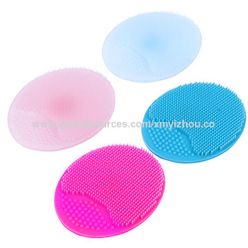 China Silicone Face Scrubbers Exfoliator Brush Facial Cleansing