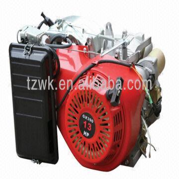 Gasoline Half Engine Gx390 Honda 13hp 4-stroke 389cc 188f Electric