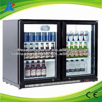 Beer Commercial Supermarket Refrigerator 49l Glass Door Mini Freezer