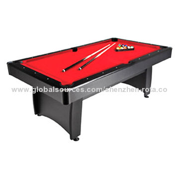 China Hot selling cheap 7ft pool table red velvet table cloth metal rail corner  sc 1 st  Global Sources & Hot selling cheap 7ft pool table red velvet table cloth ...
