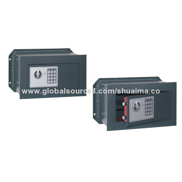 China Hidden wall safes, digital lock, key lock for option, various size