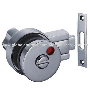 China Glass Door Knob Lock With Indicator