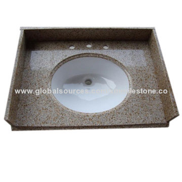 with bathroom granite tiger white countertop vanity top skin products customized