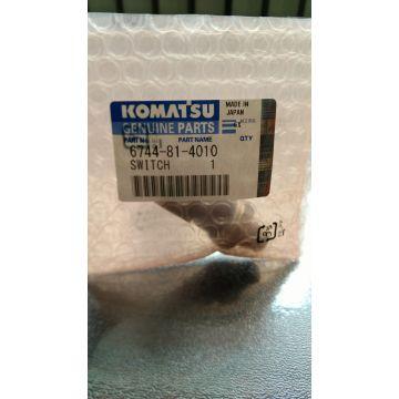 Komatsu excavator spare parts switch 6744-81-4010 | Global