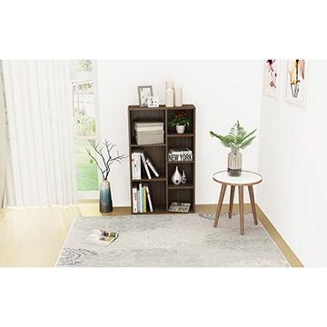 China Cheap Price Modern Home Bookshelf Large Storage Wooden