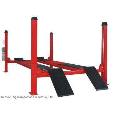 4 Post Car Lifts Hydraulic Jack Used 4 Post Car Lift For Sale