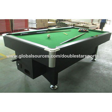 china coin operated system pool billiard table from huizhou rh doublestarsports manufacturer globalsources com coin operated pool tables canada coin operated pool tables for sale near me