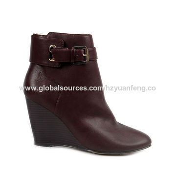 16409bfde05 ... China Lady wedge boots