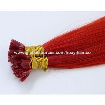 Nail Human hair extension, U tip