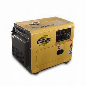 5kVA Diesel Generator with Digital Voltage Meter and