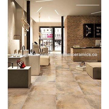 China Inkjet Cement Floor Tiles For, Tile Living Room Floors