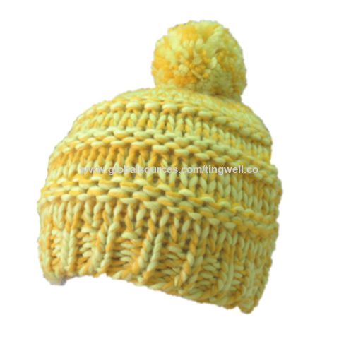 edc184a22598e China Popular knitted beanie hat for women on Global Sources