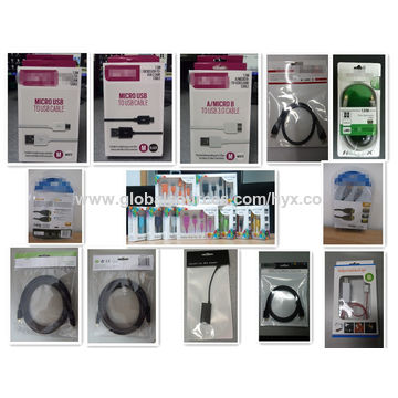 3-in-1 USB Cable for iPhone, Samsung and HTC