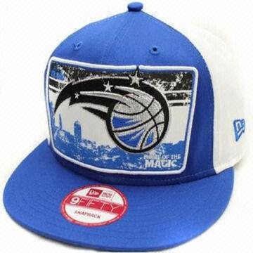 hot sale online 7cb77 6ac60 China Orlando Magic Fitted Hat Blue and White