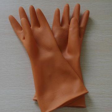 latex gloves Tan