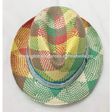 36d1467adfd China Colorful Braided Women s Straw Hat from Yiwu Manufacturer ...