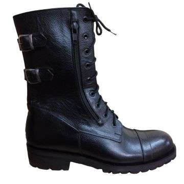 Handmade Mens Military Style Superb Leather Boots, Army