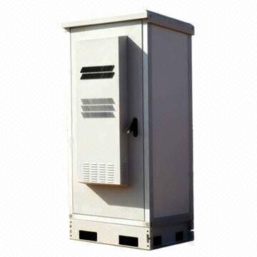 China Integration Telecom Outdoor Cabinet, AC And Heat Exchanger Optional
