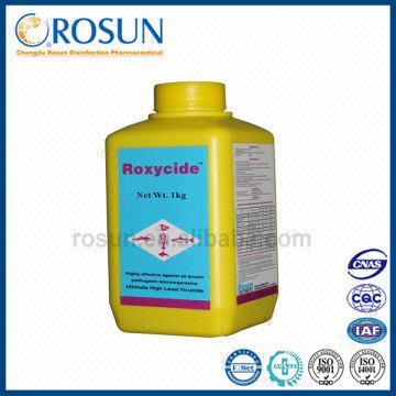Disinfectant powder for aquatic animal, aquaculture tanks