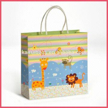 Handmade Animal 3d Gift Bag Wholesale For Baby 1 Kraft Paper Gift
