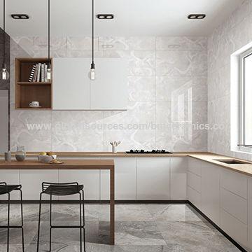 China Modern design polished porcelain jade white flooring ...