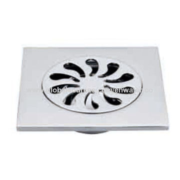 China Fashion brass floor drain, 10x10cm