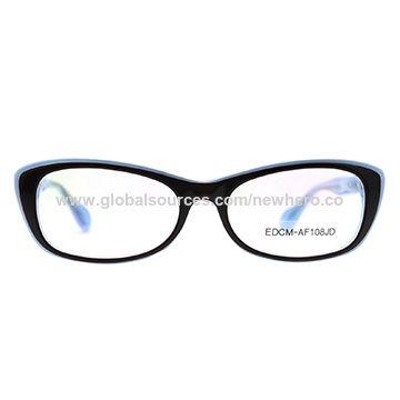 43f4e01ad4d2 China Hot sale acetate optical frame wholesale eyeglasses on Global ...