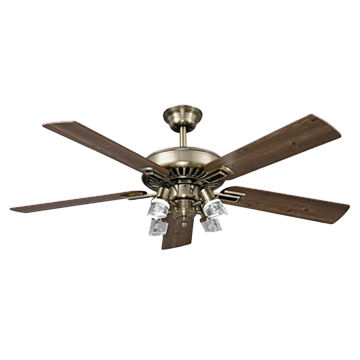 Ceiling Fan 5 Blade With 4 Led Light