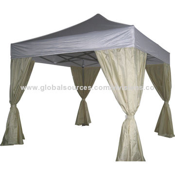 China Gazebo Tent Screen Printed Steel Display