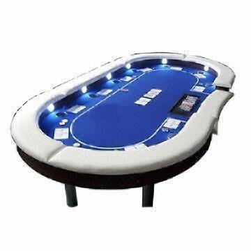 Tremendous Led Poker Table Beutiful Home Inspiration Xortanetmahrainfo
