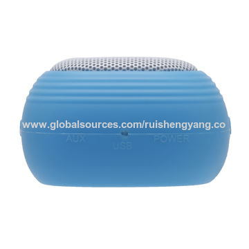 China USB Charging,Aux-in, and FM Radio in Portable Bluetooth Speaker for Android and iOS System