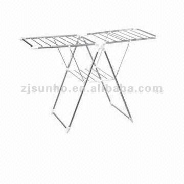Merveilleux ... China Stainless Steel Movable Clothes Rack,portable Drying Rack  Manufacturer