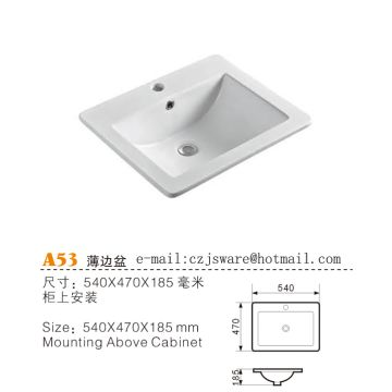 China Counter Top Basin Suppliers Vanity Manufacturers
