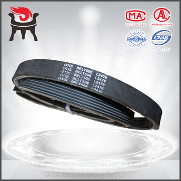 China Multiple Lease 1841 2476 Automatic Escalator Handrail Belt, Schindler 9300 Friction Wheel Belt