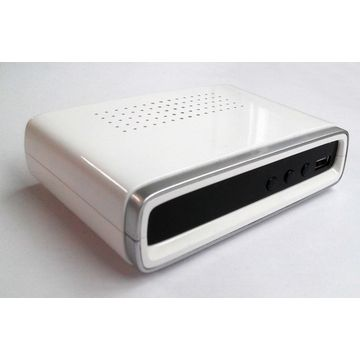 China DVB-T2 Receiver, Full-plastic Model, Compliant with Africa, Russia and south Asia Countries