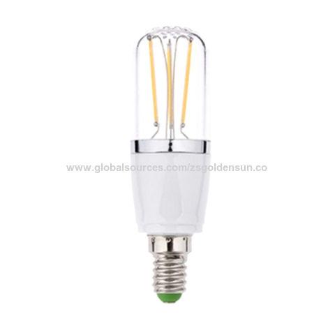 China LED Bulb 4W E14 Base PC & Plastic Cover 3 Electron-tube ...