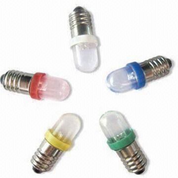 Malaysia High E10 Led Light Bulbs 12v Bulb Brand New White Red Blue