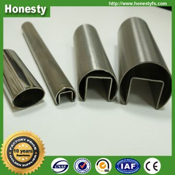 Direct buy china SS special shape stainless steel oval pipe