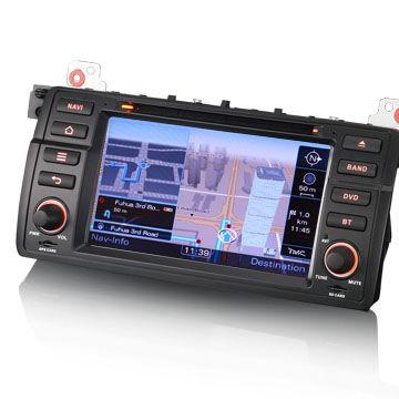 "China 7"" MTK Car DVD Player for BMW E46 GPS 3G Bluetooth RDS"