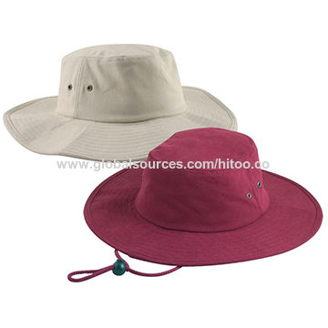 China Cotton Bucket hat Fishing Cap from Shenzhen Trading Company ... b7b5a23fca38