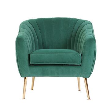 Upholstery Single Seater Sofa Fabric