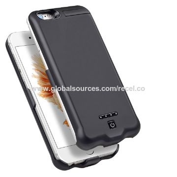 China Power bank cases, 10000mAh for iPhone 7 Plus/6s Plus/6 Plus(5.5 inch), various color are available