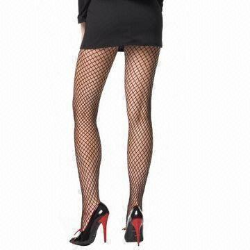 1598b1e4922f1 China Women's Fashionable Sexy Stockings/Pantyhose in Fishnet, Made of Nylon,  Available in